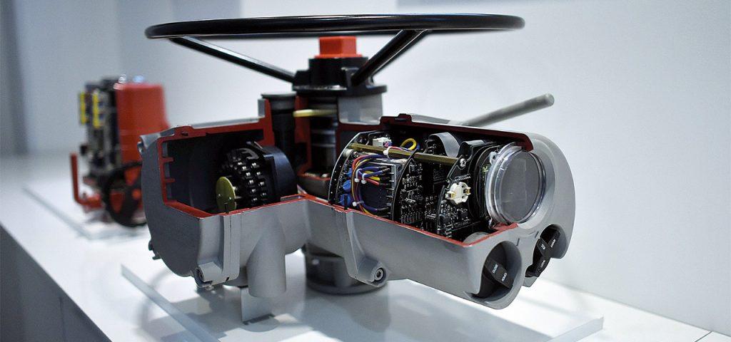 Vor dem 3D-Druck konnte man die internen Komponenten nur mit einem Cutaway-Modell anzeigen.