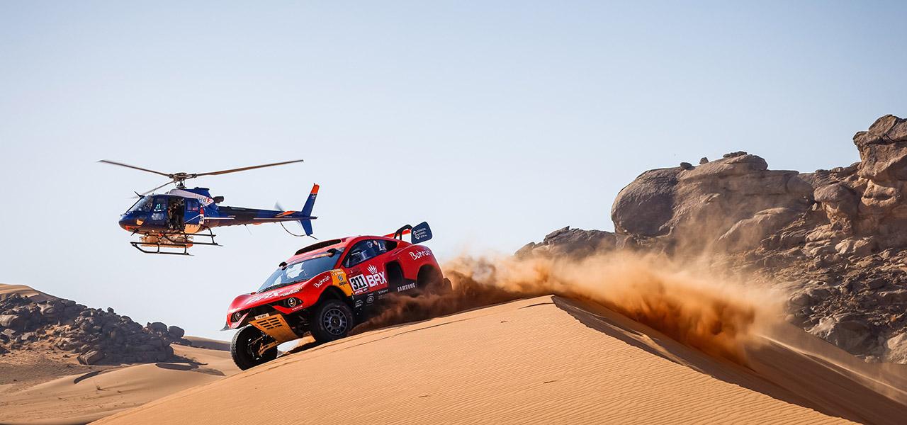 Eine der härtesten Rallye Herausforderungen - Die Rallye Dakar in Saudi-Arabien