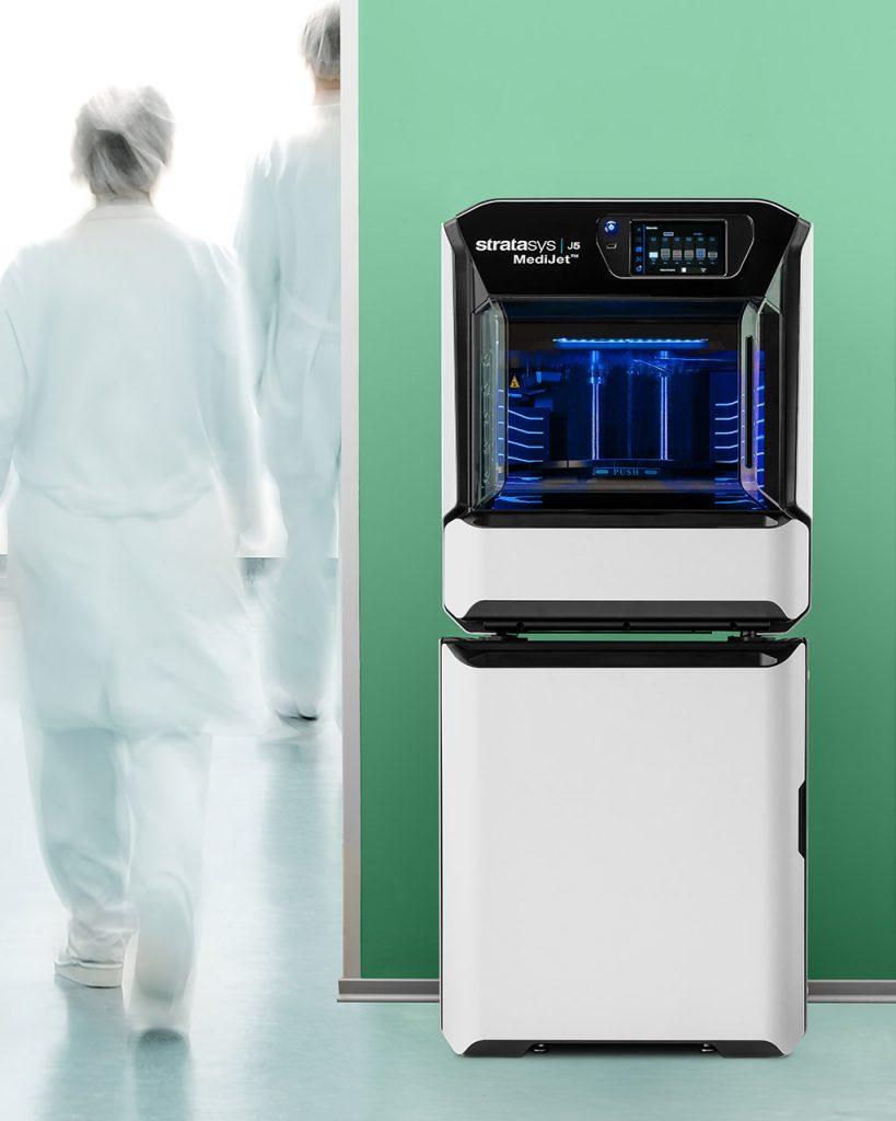 Stratasys J5 MediJet - Der All-in-one medizinische 3D-Drucker