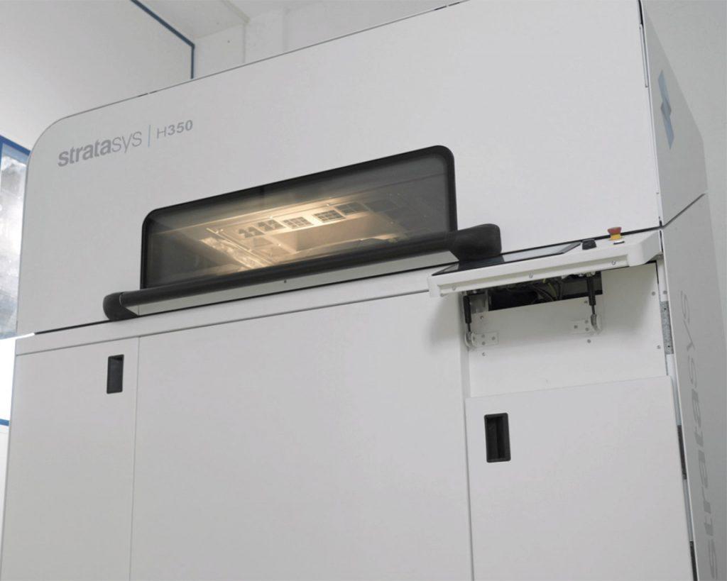 Stratasys H350 mit SAF-Technologie