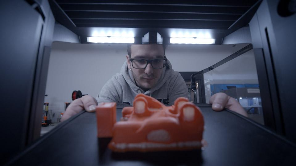 Der MakerBot Method wird von den Studierenden der HKA in ihrer Ausbildung eingesetzt.