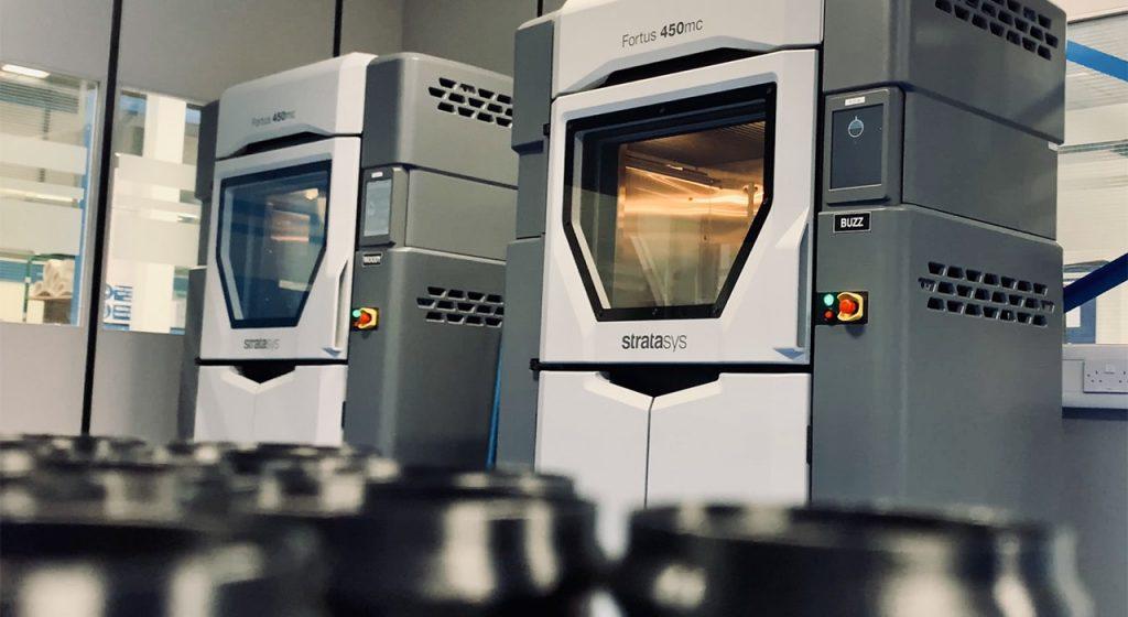 Durch die Zertifizierung ist Senior Aerospace BWT in der Lage, Flugzeuginnenteile zu drucken, die die hohen Anforderungen der Hersteller erfüllen.